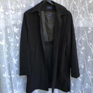 Turnbury• Men's Black Trench Coat- 44R